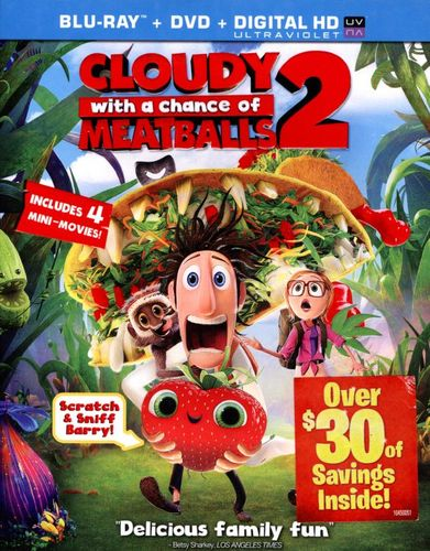 Cloudy With a Chance of Meatballs 2 [2 Discs] [Includes Digital Copy] [UltraViolet] [Blu-ray/DVD] [2013] 3060099