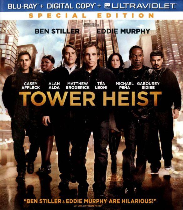 Tower Heist [Includes Digital Copy] [UltraViolet] [Blu-ray] [2011] 3060246