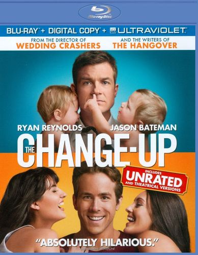 The Change-Up [Includes Digital Copy] [UltraViolet] [Blu-ray] [2011] 3060456