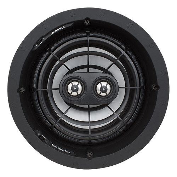 "SpeakerCraft - Profile AIM8 DT Three 8"" In-Ceiling Speaker (Each) - Black"