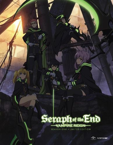Seraph of the End: Vampire Reign: Season One, Part One [Limited Edition] [Blu-ray/DVD] [4 Discs] 30672197