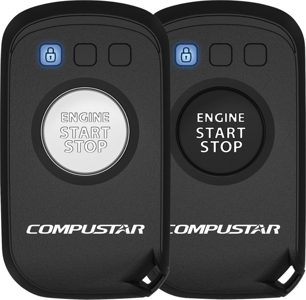 Compustar - 2-Way Remote Transmitters (2-Pack) - Gray - Corporate ...