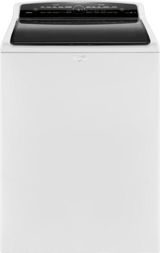 Whirlpool - Cabrio 4.8 Cu. Ft. 26-Cycle High-Efficiency Steam Top-Loading Washer - White