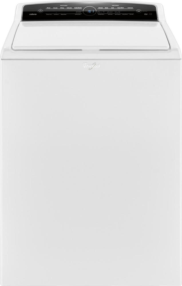 Whirlpool Cabrio 4.8 Cu. Ft. 26-Cycle High-Efficiency Top-Loading Washer White WTW7000DW