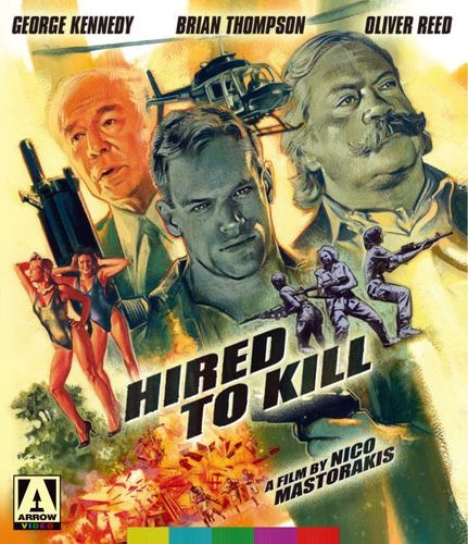 Hired to Kill [Blu-ray/DVD] [2 Discs] [1990] 30796366