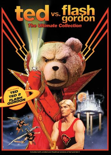 Ted vs. Flash Gordon: The Ultimate Collection [3 Discs] [DVD] 30799295
