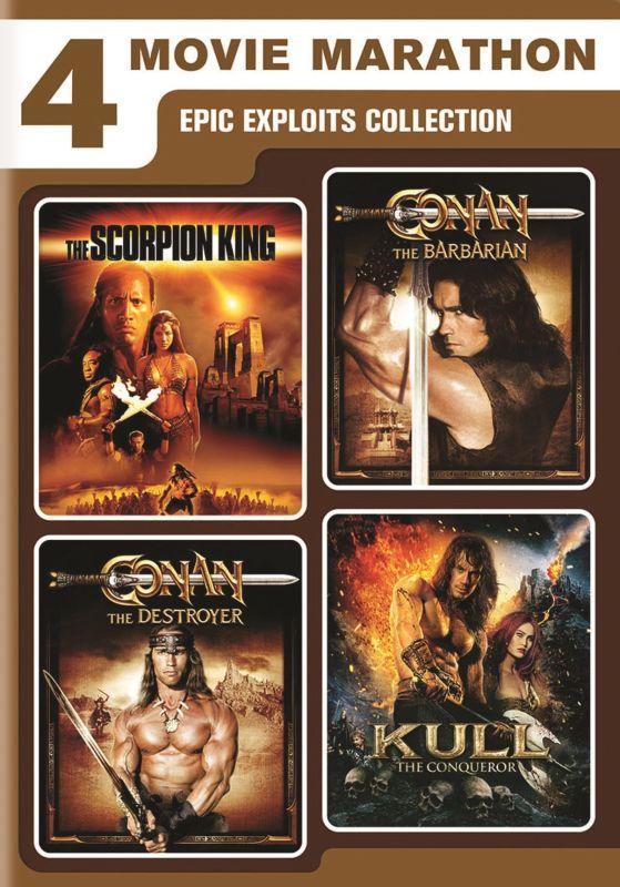 4-Movie Marathon: Epic Exploits Collection [2 Discs] [DVD] 30810506
