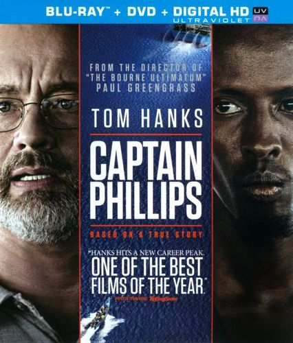 Captain Phillips [2 Discs] [Includes Digital Copy] [UltraViolet] [Blu-ray/DVD] [2013] 3084119