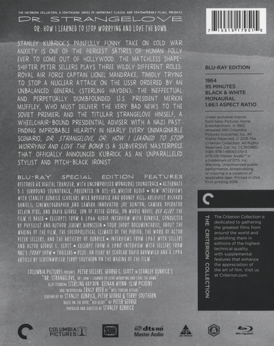 Dr. Strangelove [Criterion Collection] [Blu-ray] [1964] 30880266