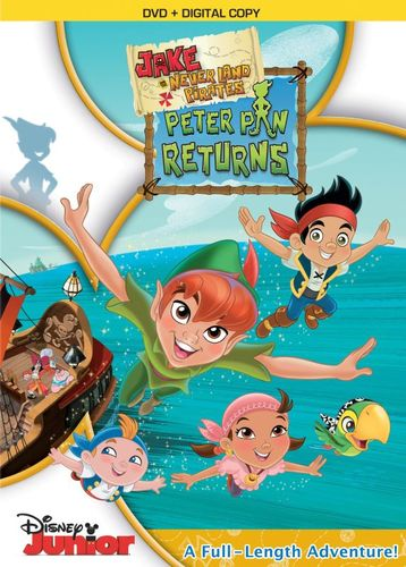 Jake and the Neverland Pirates: Peter Pan Returns [DVD] 30881141