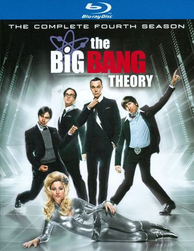 The Big Bang Theory: The Complete Fourth Season [2 Discs] [Blu-ray] 3088669