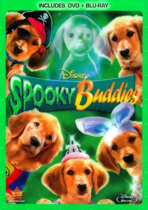 Spooky Buddies [2 Discs] [DVD/Blu-ray] [Blu-ray/DVD] [2011] 3100055