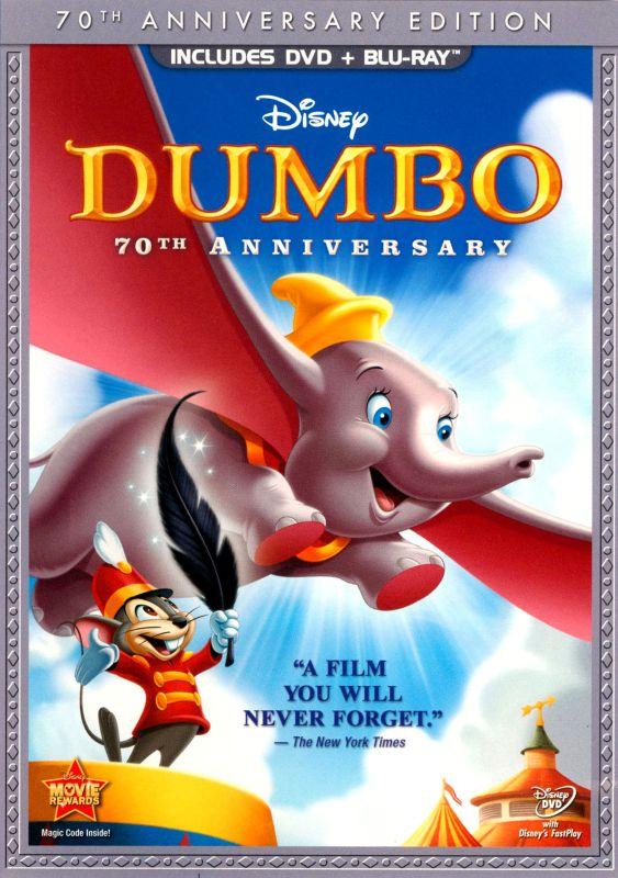 Dumbo [70th Anniversary Edition] [2 Discs] [DVD/Blu-ray] [Blu-ray/DVD] [1941] 3100091