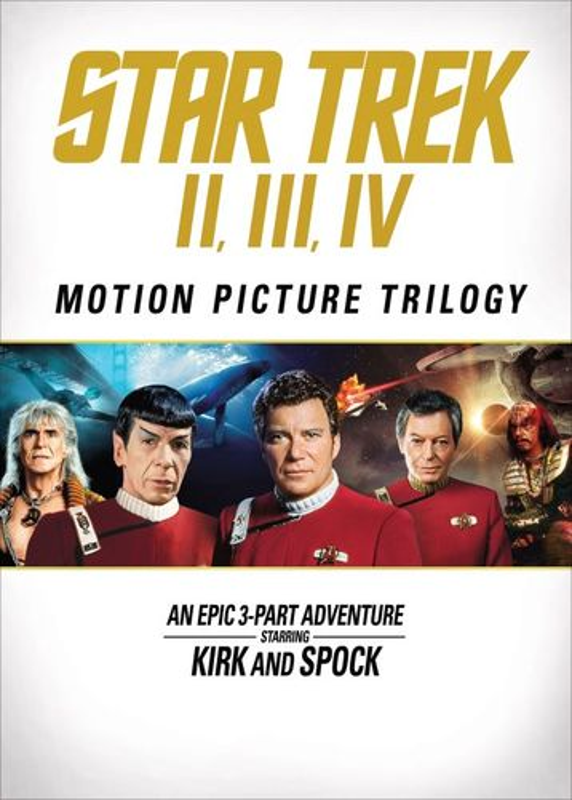 Star Trek: The Motion Picture Trilogy [3 Discs] [DVD] 31039198