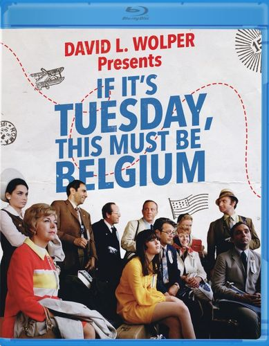 If It's Tuesday, This Must Be Belgium [Blu-ray] [1969] 31049331