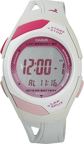 Casio - Women's Runner Eco-Friendly Digital Watch - White