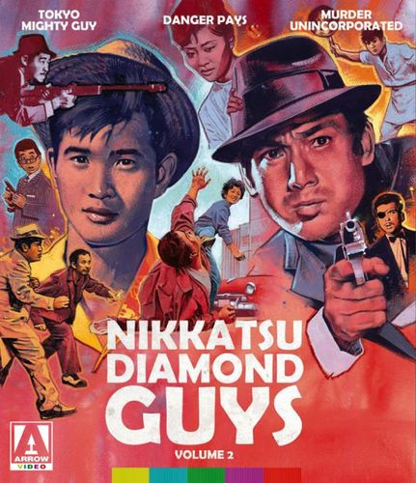 Nikkatsu Diamond Guys: Volume 2 [Blu-ray/DVD] [3 Discs] 31100667