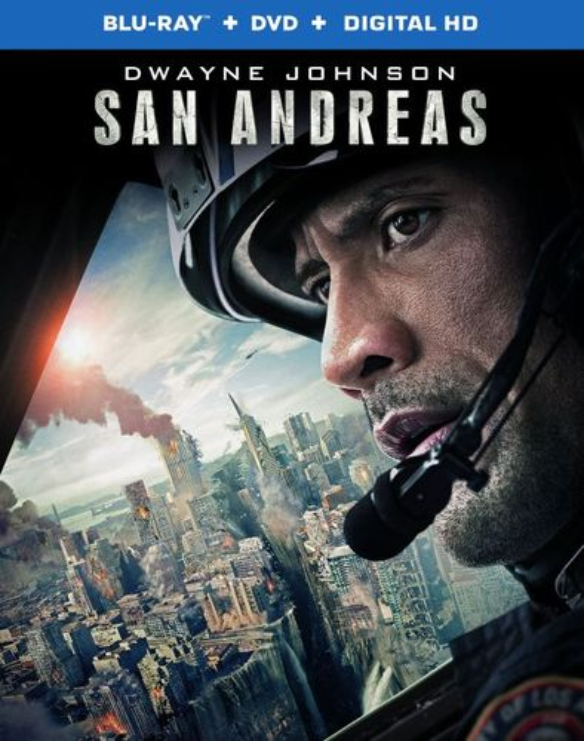 San Andreas [Blu-ray/DVD] [2 Discs] [2015] 31127158