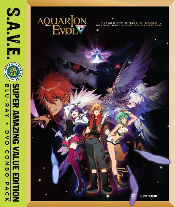 Aquarion Evol: Season Two [S.A.V.E.] [Blu-ray/DVD] [8 Discs] 31195273