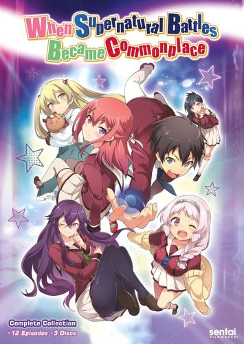 When Supernatural Battles Became Commomplace: The Complete Collection [3 Discs] [DVD] 31223202