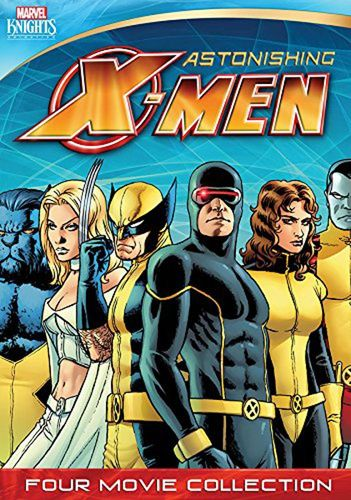 Astonishing X-Men: Four-Movie Collection - Gifted/Dangerous/Torn/Unstoppable [2 Discs] [DVD] 31274492