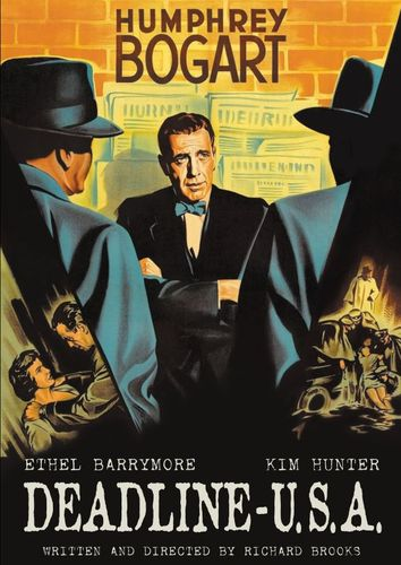 Deadline U.S.A. [DVD] [1952] 31300547