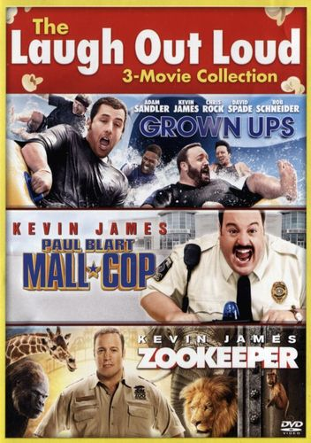 The Laugh Out Loud Collection: Grown Ups/Paul Blart: Mall Cop/Zookeeper [2 Discs] [DVD] 31339168