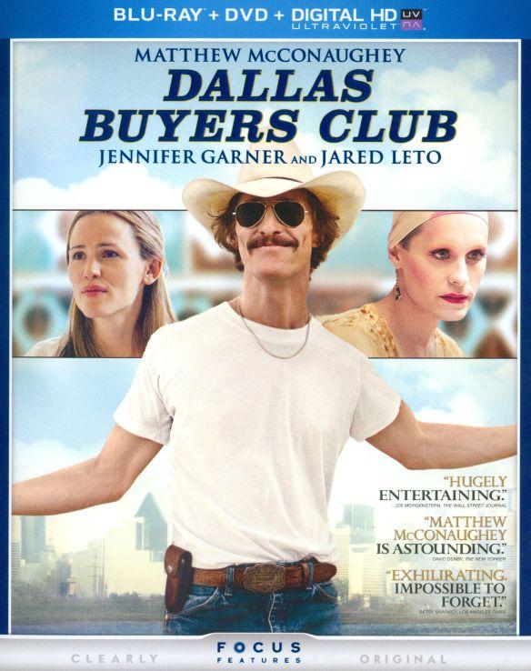 Dallas Buyers Club [2 Discs] [Includes Digital Copy] [UltraViolet] [Blu-ray/DVD] [2013] 3139146
