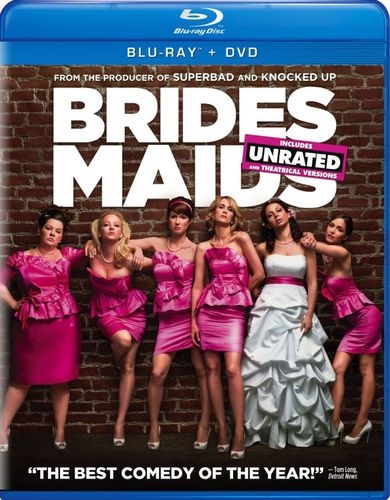 Bridesmaids [Unrated/Rated] [2 Discs] [Includes Digital Copy] [Blu-ray/DVD] [2011] 3142193
