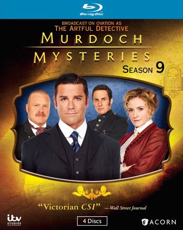 Murdoch Mysteries: Season 9 [Blu-ray] 31506153