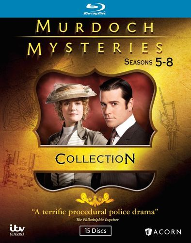 Murdoch Mysteries: Seasons 5-8 [Blu-ray] 31506171