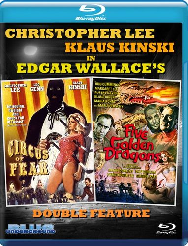 Circus of Fear/Five Golden Dragons [Blu-ray] 31525183