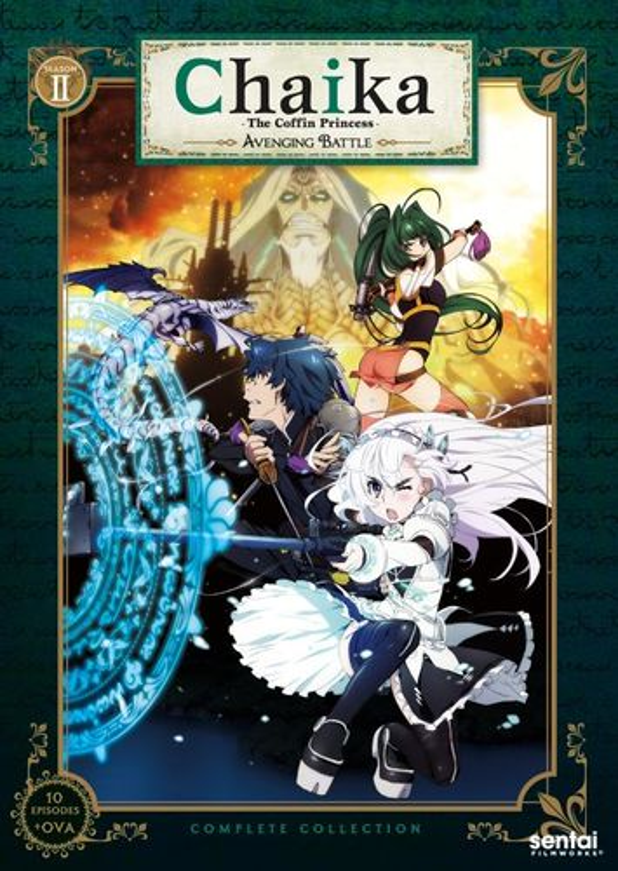 Chaika: The Coffin Princess - Season 2 [3 Discs] [DVD] 31534308