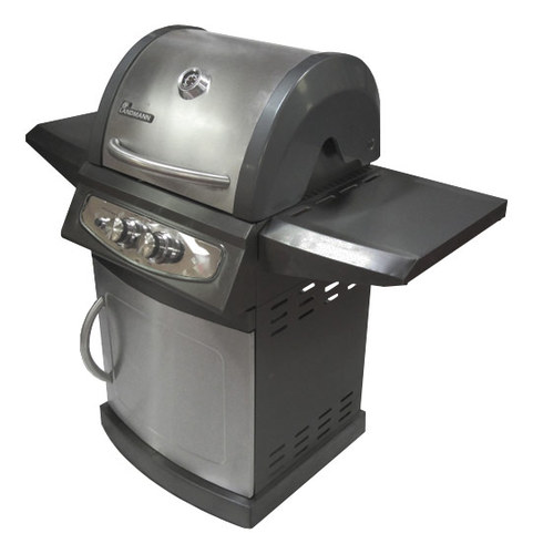 Image of Landmann - Falcon Series Gas Grill - Black/Stainless-Steel