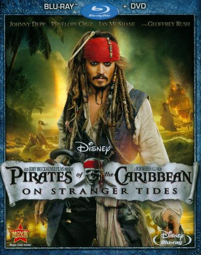 Pirates of the Caribbean: On Stranger Tides [2 Discs] [Blu-ray/DVD] [2011] 3158528