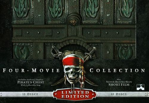 Pirates of the Caribbean: Four-Movie Collection [15 Discs] [Includes Digital Copy] [Blu-ray/DVD]
