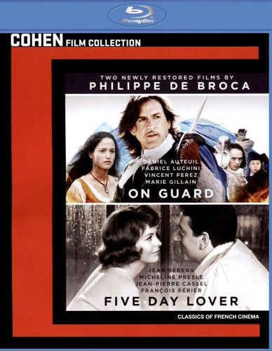 Two Newly Restored Films by Philippe de Broca: On Guard/Five Day Lover [Blu-ray] [2 Discs] 31647859