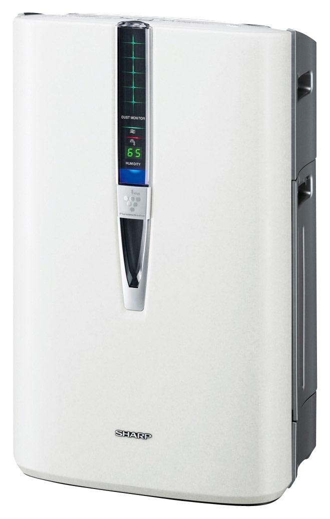 Sharp - Plasmacluster 99.97% HEPA Air Purifier - White 3166245