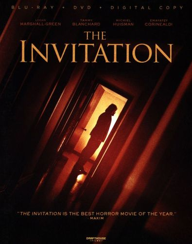 The Invitation [DVD/Blu-ray] [2 Discs] [Blu-ray/DVD] [2015] 31679178