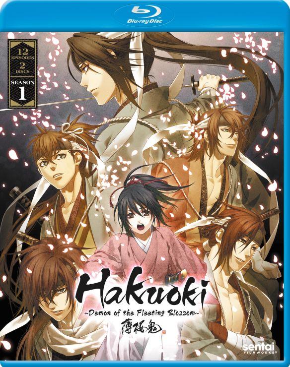 Hakuoki: Demon of the Fleeting Blossom - Season 1 [Blu-ray] [3 Discs] 31808437