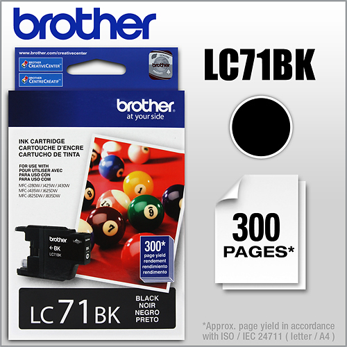 Brother - LC71BK Ink...