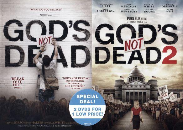 God's Not Dead/God's Not Dead 2 [2 Discs] [DVD] 31861207