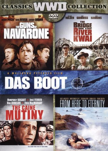 The Bridge on the River Kwai/The Caine Mutiny/The Guns of Navarone/From Here to Eternity [DVD] 31885221