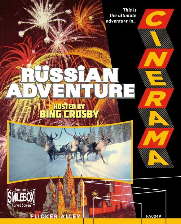 Cinerama's Russian Adventure [Blu-ray/DVD] [2 Discs] [1966] 31886334