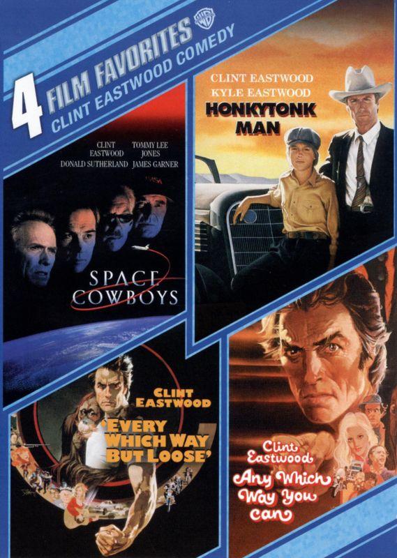 4 Film Favorites: Clint Eastwood Comedy [4 Discs] [DVD] 31919092