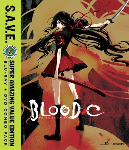 Blood-C: The Complete Series [S.A.V.E.] [Blu-ray/DVD] [4 Discs] 31963405