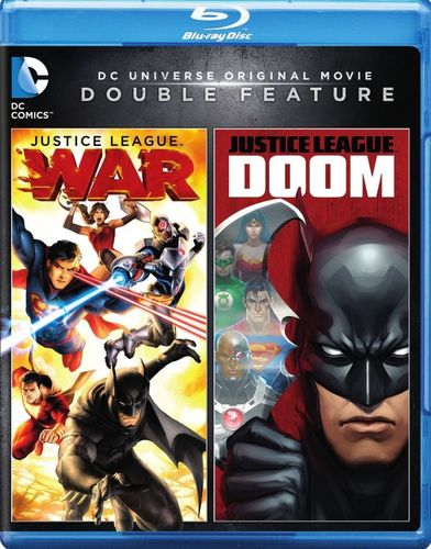 Justice League: War/Justice League: Doom [Blu-ray] 31983084