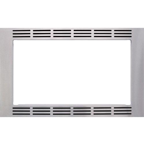 Panasonic - 30  Trim Kit for Select Microwaves - Stainless steel Trim Kit