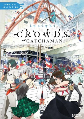 Gatchaman Crowds Insight: The Complete Collection [3 Discs] [DVD] 32014335
