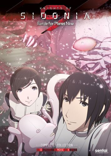 Knights of Sidonia: Battle for Planet Nine - Season 2 [4 Discs] [DVD] 32014344